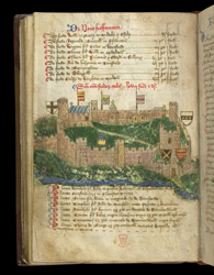 Richmond Castle, In The Register Of The Honour Of Richmond